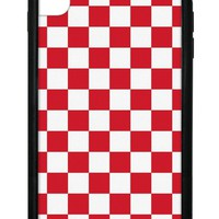 Red Checkers iPhone Xs Max Case