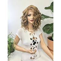 Dark blond lace front wig - Your So Amazing 218 14