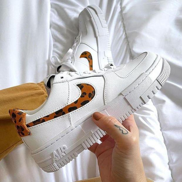 Image of Nike Air Force 1 AF1 Women's Fashion Sneakers Shoes