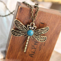 Game Of Thrones Song Of Ice And Fire Sansa Stark Vintage Dragonfly Pendant Necklace