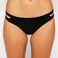 South Beach | South Beach Exclusive to ASOS Amber Cut Out Bikini Bottom at ASOS