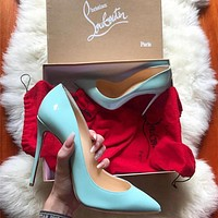 (SC)> Christian Louboutin  2021 Louboutin Fashion casual high heels