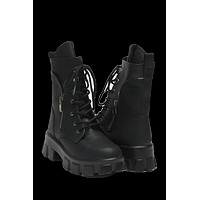 Jared Women's Black Leather Boots