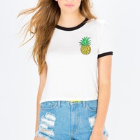 Tiki Pineapple Tee