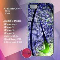 colorful nike basketball photo glitter 03 case for iPhone 4/4s,iPhone5, iPhone 5s, iPhone 5c, galaxy s3,s4, LG Nexus4 E960, BlackBerry Z10