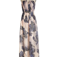 ModCloth Long Strapless Maxi Mirth, Wind, and Inspire Dress