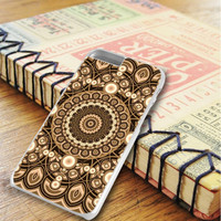 Mandala Brown Pattern Art iPhone 6 Plus | iPhone 6S Plus Case