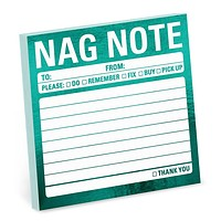 Nag Note Metallic Sticky Notes