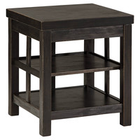 Gavelston Occasional Tables - Square End, Sofa, Chair Side End or Lift Top Cocktail Table - Rubbed Black