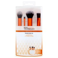 Real Techniques Flawless Base Makeup Brush Set, 5pcs - Walmart.com