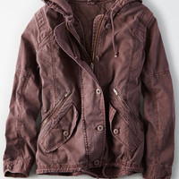 AE Military Parka , Pink