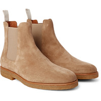 Common Projects - Suede Chelsea Boots | MR PORTER