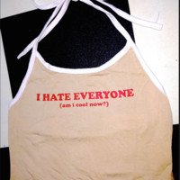 SWEET LORD O'MIGHTY! I HATE EVERYONE HALTER