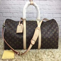 cc kuyou leather louis vuitton luggage 45 CM