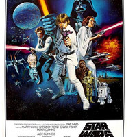 Star Wars Classical Wall Poster Print 16x24