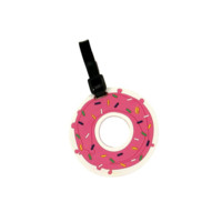 Donut (touch my) Luggage Tag
