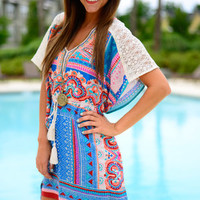The Zephyr Top, Turquoise