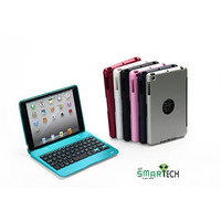 Hard Shell iPad mini case with Bluetooth wireless keyboard in multi colors