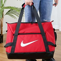 NIKE New fashion hook print shoulder bag crossbody bag handbag Red