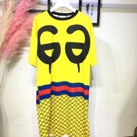 GUCCI GG Oversized Tee Dress