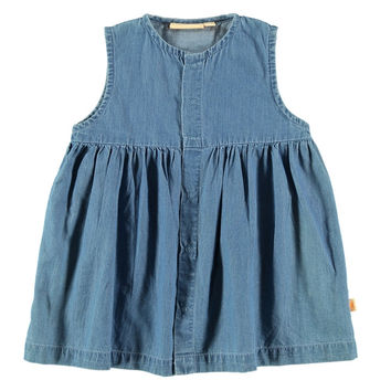 TinyCottons Washed Jean Dress