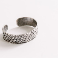 Silver Scale Cuff by Dream Collective for Of a Kind