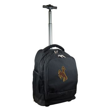 Wyoming Cowboys Wheeled Premium Backpack