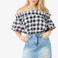 Rain Check Off Shoulder Top