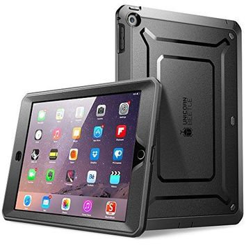 iPad Mini Case, SUPCASE [Heavy Duty] Apple iPad Mini 3 Case [2014 Release with Touch ID] Compatible with iPad Mini / iPad Mini with Retina Display [Unicorn Beetle PRO Series] Full-body Rugged Hybrid Protective Case Cover with Built-in Screen Protector, Bl