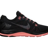 The Nike LunarGlide+ 5 BLK Women's Running Shoe.