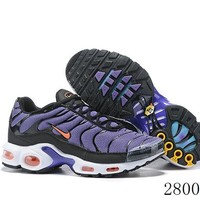 Hcxx 19July 1198 Nike Air Max Plus BQ4629-002 Retro Sports Flyknit Running Shoes