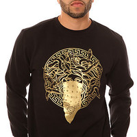 The Crooks and Castles Sweatshirt Primo in Black
