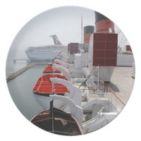 Queen Mary Cruise Ship Party Plates