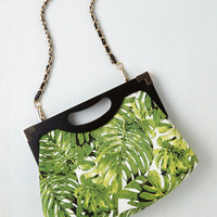Safari Tropical Tendencies Bag in Palms by ModCloth