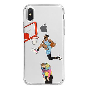 2020 DUNK CONTEST CUSTOM IPHONE CASE