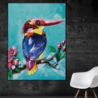 Canvas Painting Wall art Picture wall painting art canvas Picture decor poster birds art print on canvas Wall Picture no frame