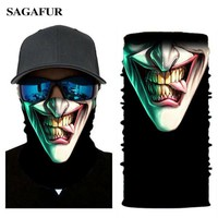 3D Bandana Micro Fiber Mask Balaclava Head Face Mask Outdoor Windproof Multi-function Mask Men Female Riding Shield Visor Scarf