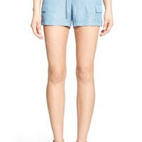 Willow & Clay Chambray Cargo Shorts | Nordstrom
