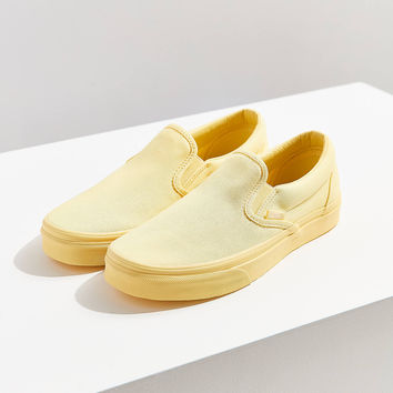Vans Mono Canvas Slip-On Sneaker   Urban Outfitters