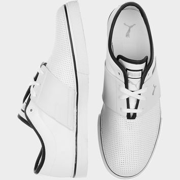PUMA EL ACE WHITE AND BLACK SNEAKERS