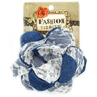 Denim & Lace Flower Hair Clip | Shop Hobby Lobby