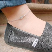 Cute New Arrival Stylish Jewelry Sexy Shiny Ladies Gift Simple Design Simple Anklet [6768751943]