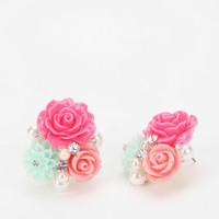 Urban Outfitters - Sanibel Bouquet Earring