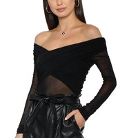 Robertson & Rodeo Close To You Mesh Bodysuit