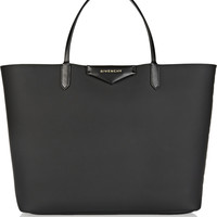 Givenchy - Antigona shopping bag in black coated canvas