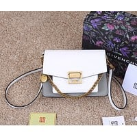 GIVENCHY  Women's Leather Shoulder Bag Satchel Tote Bags Crossbody 27x19x8cm 0422mp