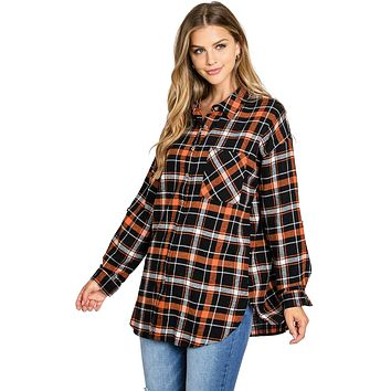 Oxford Oversize Flannel