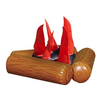 Inflatable Campfire & Pit Set | zulily