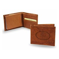 San Francisco 49ers NFL Manmade Leather Billfold