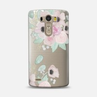 Anemones + Roses LG G3 case by quinn luu | Casetify